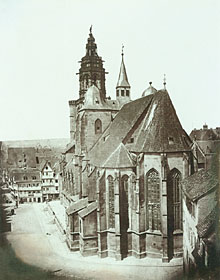 Picture shows the Kilian's Church